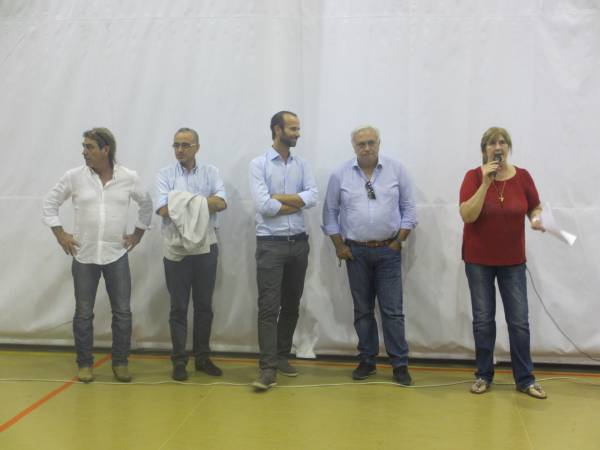 Bertoni Marco (direttore sportivo)- Nicola Ermentano -Andrea Vannucci- Elio Sità e Elviana Veggian